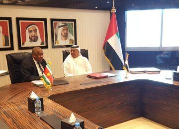 Suriname e Emirados Árabes Unidos assinam acordos de cooperação econômica