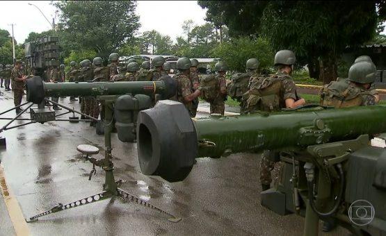 Segurança da posse de Bolsonaro terá mísseis antiaéreos com alcance de 7 km; veja detalhes