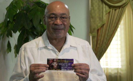 Presidente Desi Bouterse confirma apoio ao lutador surinamês Tyrone Spong