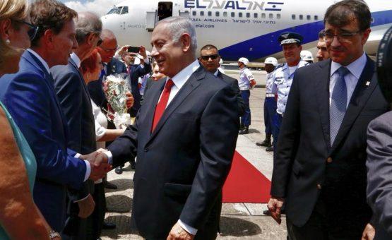 Bolsonaro e Netanyahu se reúnem no Forte de Copacabana