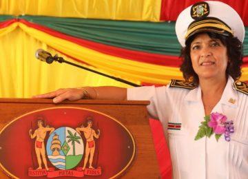 DC Nisha Kurban-Baboe assume o comando no distrito de Nickerie