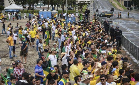 Homem é preso por importunação sexual durante posse de Bolsonaro