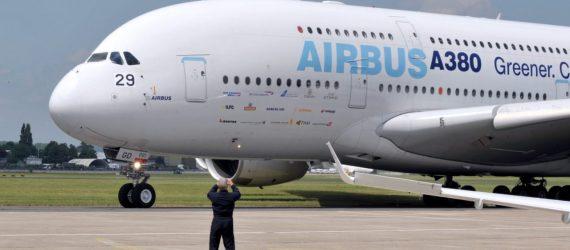 Airbus anuncia fim da produção do superjumbo A380