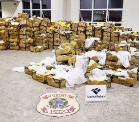 Natal é ponto de embarque de rota marítima do tráfico internacional de cocaína, diz PF