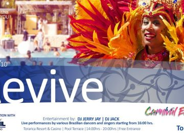 Embaixada do Brasil em Paramaribo participa do Revive Carnival Edition no Hotel Torarica