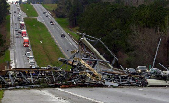 Passa de 20 número de mortos em tornados no Alabama