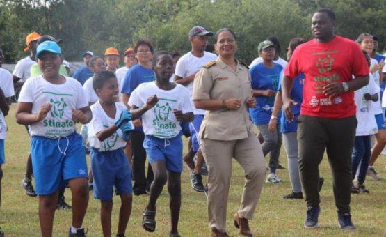 Quadragésimo dia de esporte para crianças com deficiências
