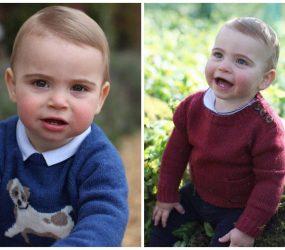 Príncipe Louis, filho de William e Kate, completa um ano
