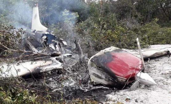 Polícia relata mais informações sobre aeronave brasileira que caiu em Suriname