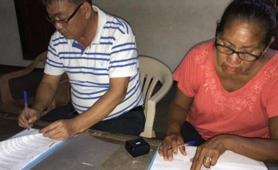 Bewoners Cabendadorp geven toestemming voor exploitatie van rondhout