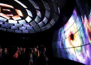 TVs ganham tela curva, dobrável, transparente e dupla face