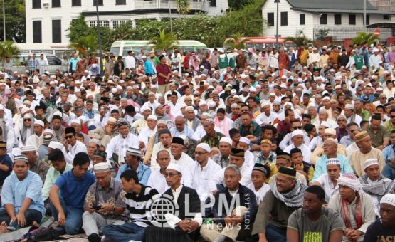 Ministro Mike Noersalim fala sobre o feriado nacional do Ramadã (Fotos)