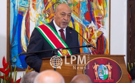 Presidente Desi Bouterse fará visita oficial ao Brasil no mês de maio