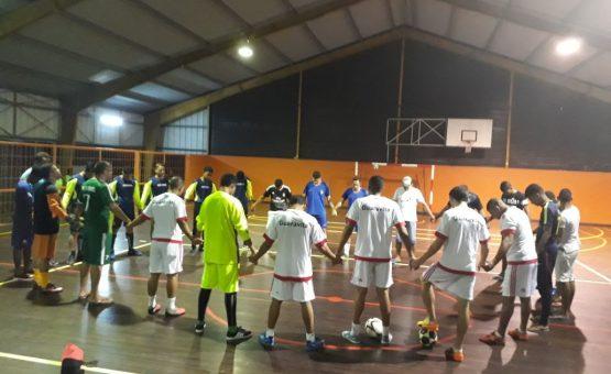 Começa a segunda rodada da Primeira Liga de Futsal em Paramaribo