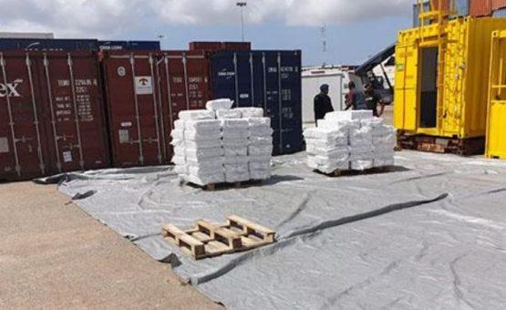 Mega apreensão de drogas leva á prisão de quatro pessoas no Suriname