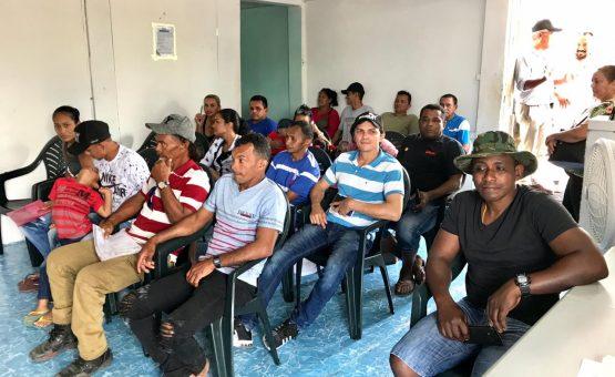 Braziliaanse ambassade komt brazilianen in Albina tegemoet