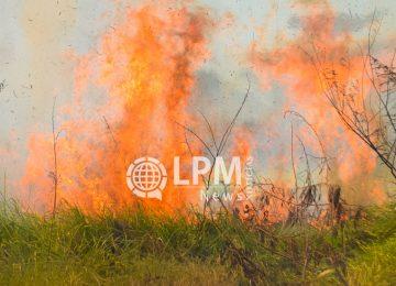 KBS evita incêndio de residência em construção e faz apelo à população