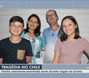 Apartamento onde família brasileira morreu no Chile estava sem vistoria
