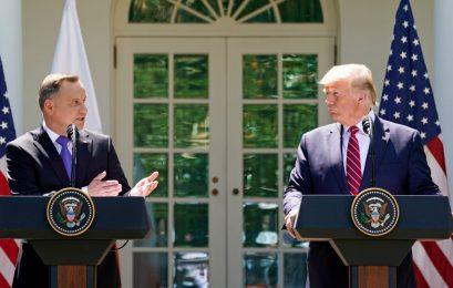Trump anuncia envio de drones e soldados à Polônia e Rússia reage