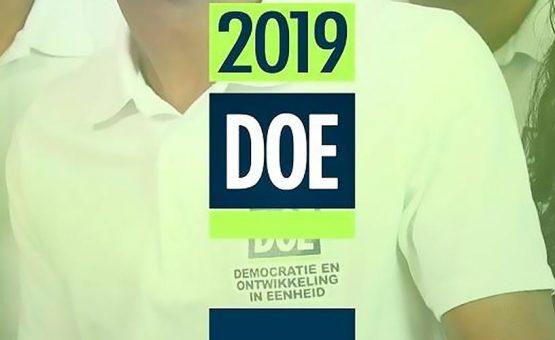 DOE se concentra em 'Sranan mang' durante as eleições de 2020