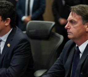 'Nós confiamos irrestritamente no ministro Moro', diz Bolsonaro
