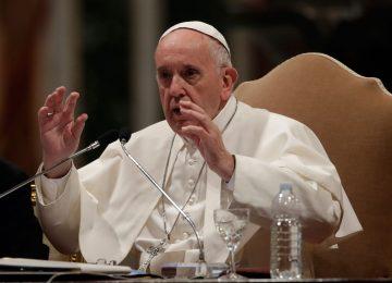 Papa denuncia a prostituição como 'doença da humanidade'