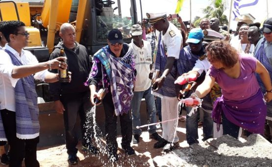Iniciadas as obras de reabilitação e asfaltamento do Projeto Anjoemara