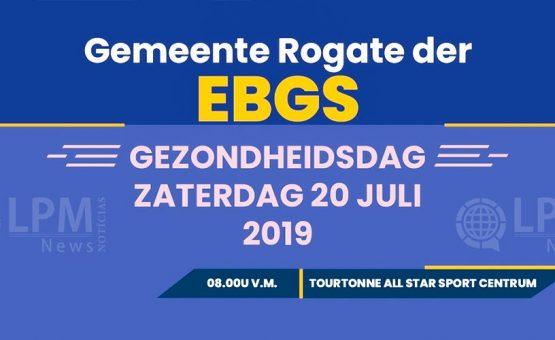 Gemeente Rogate der EBGS houdt gezondheidsdag