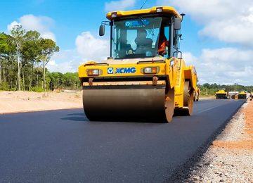 Nova rodovia irá receber 9,6 quilômetros de asfalto