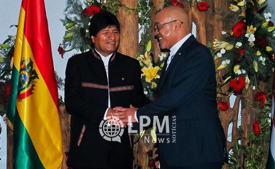 Boliviaanse president krijgt hoogste onderscheiding