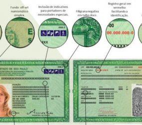 Nova carteira de identidade começa a ser emitida em SP a partir desta terça