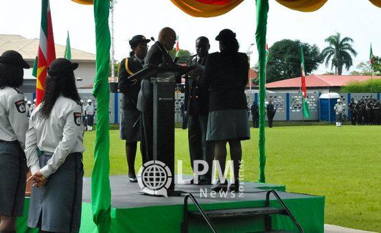 Roberto Prade officieel geïnstalleerd tot Korpschef KPS