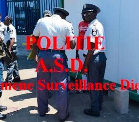 Politie pakt hosselaars en drugsverkopers in centrum Paramaribo aan