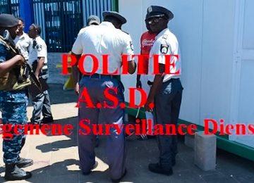 Operação policial prende oito, apreende mercadorias e reboca carros