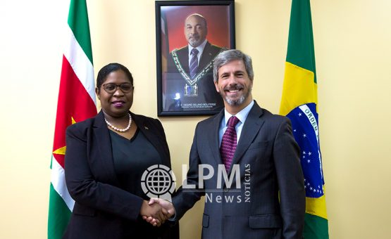 Brazilië en Suriname hebben goede samenwerkingsverband